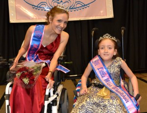 Carrie and Delaney - Ms WheelChair Kansas 2015 & Litle Miss Wheelchair Kansas 2015