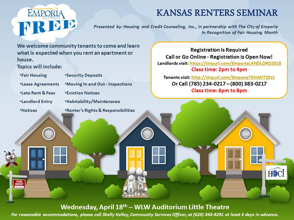 Renters Training Session April 2018