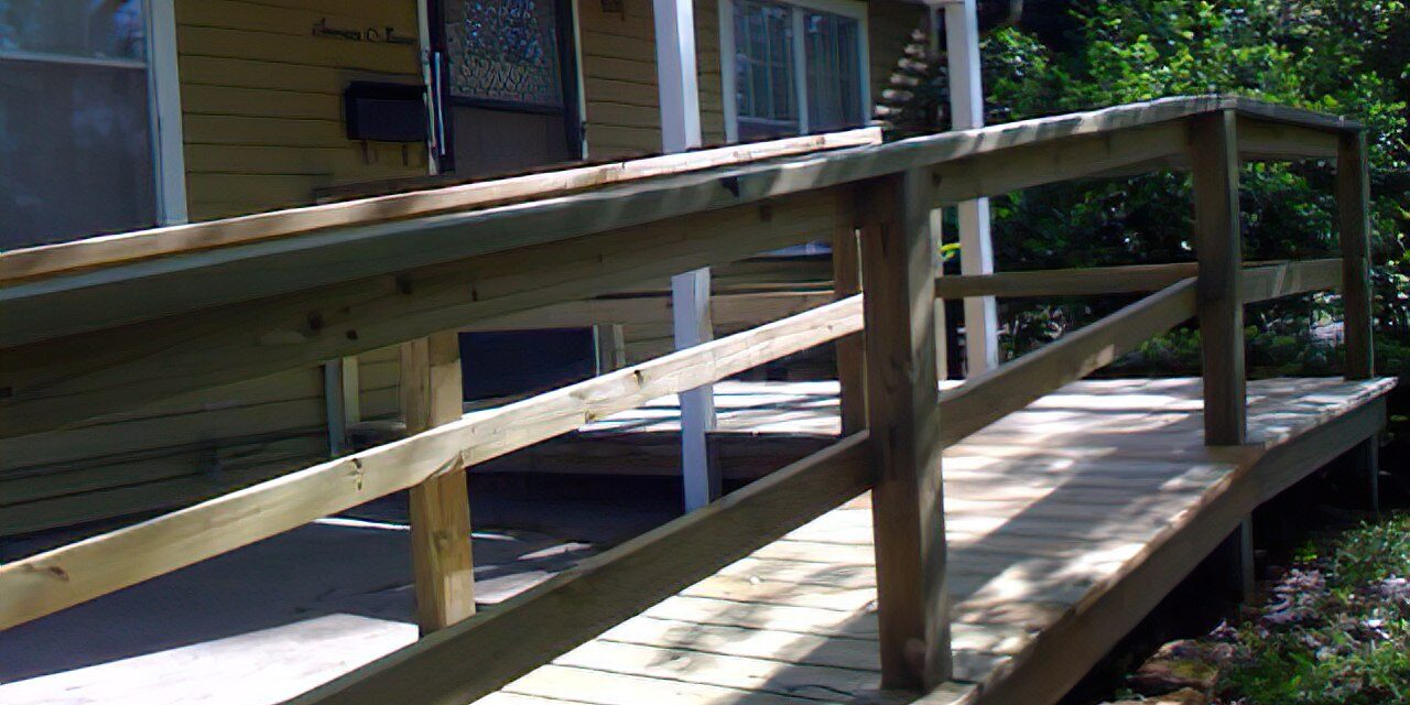 New ramp added to house